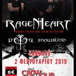 Live 2/2/2019 at the Crow Club with Deified & Snowblind